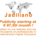 Publicity options on our main page Jadiliano.